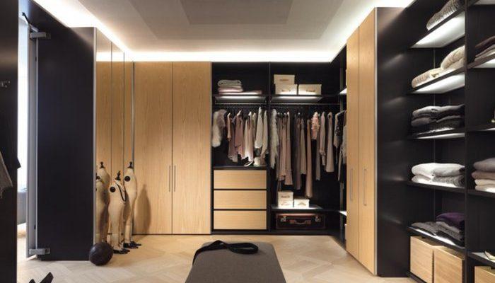 Встроенный шкаф или гардеробная комната