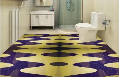 эпоксидный пол в ванной комнате