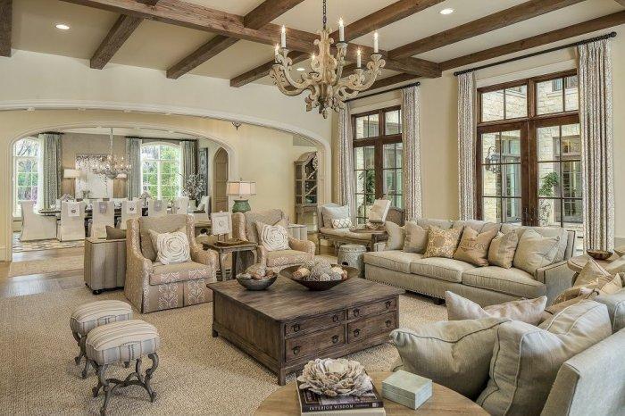 Оформление помещения и мебель в стиле прованс