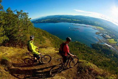 Biking in Cowichan Vancouver Island by Tourism Cowichan