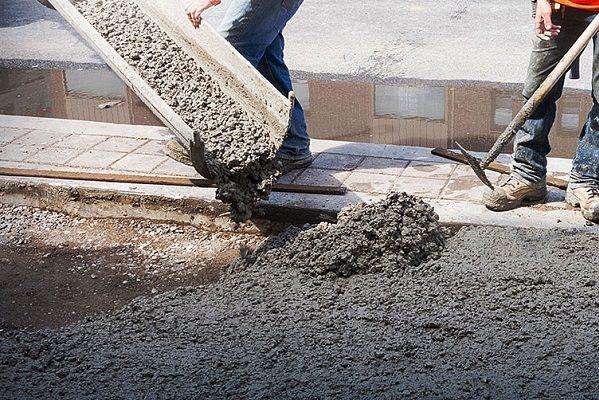 Бетон удельная плотность вода через бетон