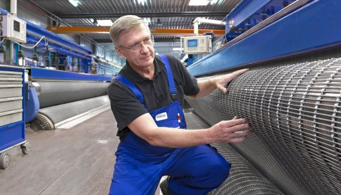 weaving machine metal